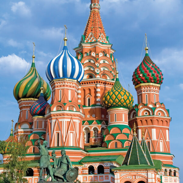 Russian tours from India - 6 Days